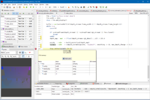 Screenshot of the Gepura Quasar Redshift IDE